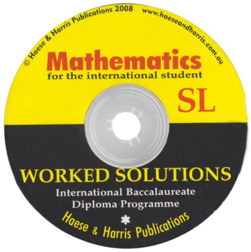 International Baccalaureate Mathematics Standard Level