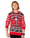 Fra Gee Lay Leg Lamp Ugly Christmas Sweater - A Christmas Story - L