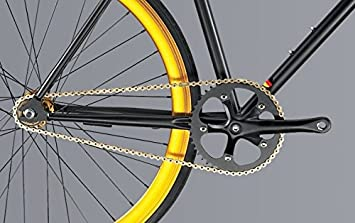 LinQ® cigalinq® Cadena de bicicleta Cadena 114 eslabones MTB Road ...