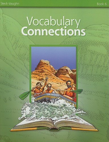 Steck-Vaughn Vocabulary Connections: Student Edition  (Adults F) Book 6