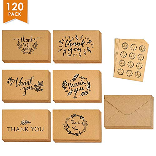 Thank You Cards Set 120 product image