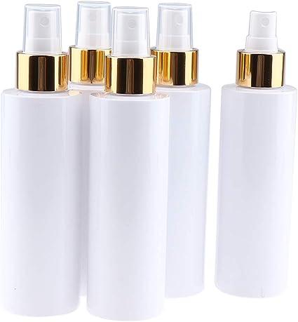 Sharplace 5 Pedazos Botella de Bomba Tubo de Aerosol Recipientes de Crema Estuche de Líquido - 150ml: Amazon.es: Belleza
