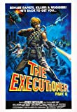 The Executioner, Part 2 (1984) Movie Poster 24x36