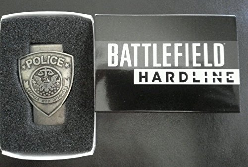 Battlefield Hardline Limited Edition Police Money Clip