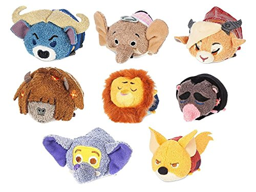 Zootopia Movie Tsum Tsum Stuffed Animal Plush Figure Toy Set