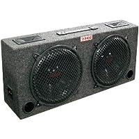 Xxx kic120 (2) Dual 12 Car Audio Subwoofer Sub Box W/ 5 Tweeters