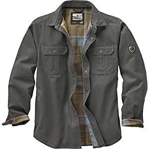 Amazon.com: Legendary Whitetails Men's Journeyman Rugged Shirt ...