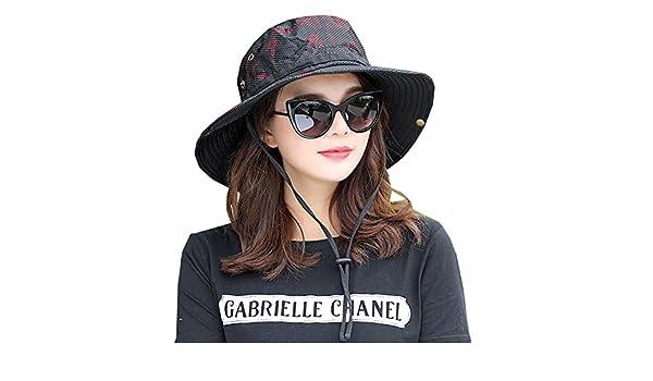 XUERUI Sombreros Camuflaje Sombrero para El Sol Al Aire Libre ...