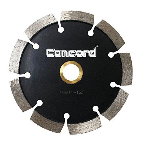 Disco de Diamante CONCORD TPS045A6HP solado con láser de punto de pliegue de 4 5 pulg. Ancho de segmento de 250 pulg.