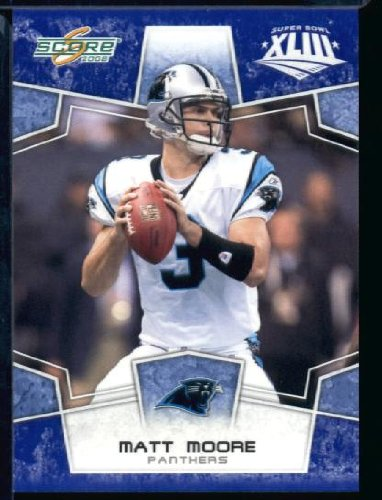 2008スコアSuperbowlブルーNFLフットボールカード – # Carolina ( Limited to 1200 – Made ) # 40マットムーアQB – Carolina Panthers B00B7TULY8, つかさ石材:dd8e3351 --- harrow-unison.org.uk