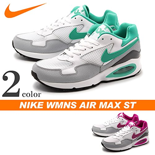 Gry ST Donna wlf Nike Scarpe Wmns Fchs Sportive Blanco Air Bianco anthrc Flsh Max White xOOagRUHn