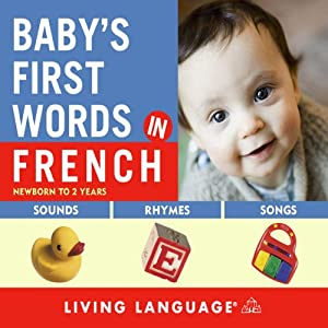 Baby's First Words in French Audiobook