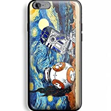 """RHINO ARMOUR SLIM CASE - Star Wars Darth Vader BB8 Storm Trooper Yoda -Rubber Case for Apple iPhone 6 Plus, 6S Plus (5.5"""" screen), . Includes screen protector to protect the screen. Style 54"""