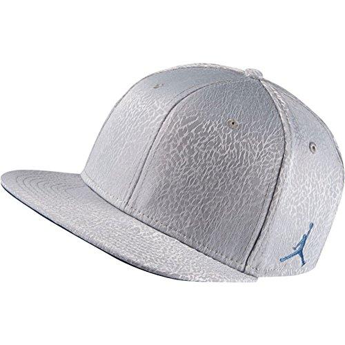 Nike Retro Hat - Nike Mens Jordan 3 Retro Snapback Hat Cement Grey/True Blue 802029-010