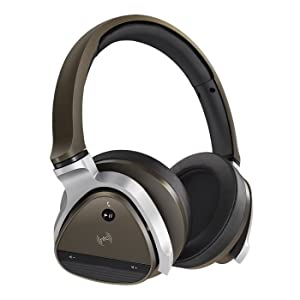 Creative Aurvana Gold Wired/Wireless Headset with 40mm Drivers, Bluetooth 3.0, NFC and Built-In Microphone