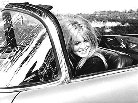 Unbekannt Brigitte Bardot Foto, Schwarz/Weiß , 24 x 30 cm aucune