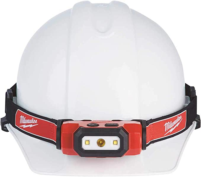Milwaukee Electric Tool MWK2111-21 475 Lumen USB Rechargeable Hard Hat Headlamp