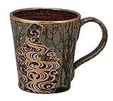 Kutani Pottery Ino Seiho Kourinume Japanese Plum Trees Mug Cup K4-889