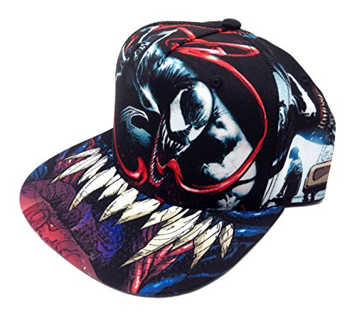 4d1940aa71d Jual Marvel Comics Venom Sublimated All Over Print Snapback ...