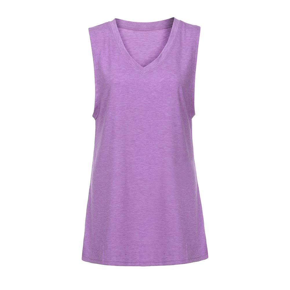 Women Tank Top,Lowprofile Lady's Casual Fashion V Neck Camisole Sleeveless Summer Lightweight Top Polka Dot Chffion Cami Top by Lowprofile Tank Top Camis (Image #5)