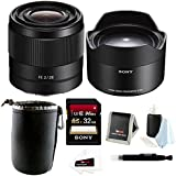 Sony FE 28mm f/2.0 E-Mount Prime Lens Ultra-Wide(SEL075UWC) Converter Bundle