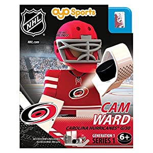 NHL Carolina Hurricanes Cam Ward Generation 1 Toy Figure