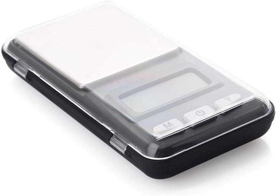 Relaxbx Mini Bilancia Multiuso per Mini bilance per bilance 500/300/200G 0 01G/0 Bilance digitali 1G Grammo Bilance elettroniche per Sterling LCD Display-0.01G_X_500G 0.01g X 500g