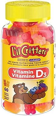 L'il Critters vitamin d gummy vitamins, 60 C