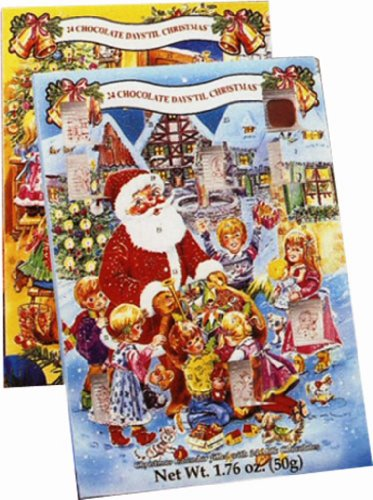 Alberts Advent Calendar Candy, 1.76 Ounce