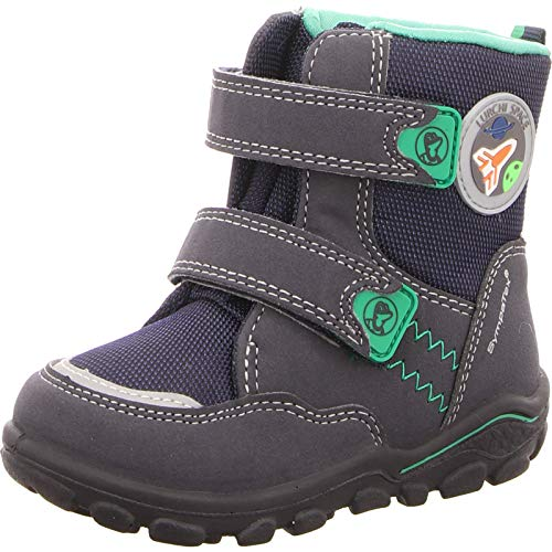 Mixte Green 32 Bébé Bottines Sympatex Atlantic Lurchi Bleu Kev pqHPpv