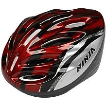 DealMux Man Woman Skateboard Bicycle Bike Cycling Skating Foam Helmet Red Black