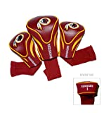 NFL Washington Redskins 3 Pack Contour Fit Headcover, Outdoor Stuffs
