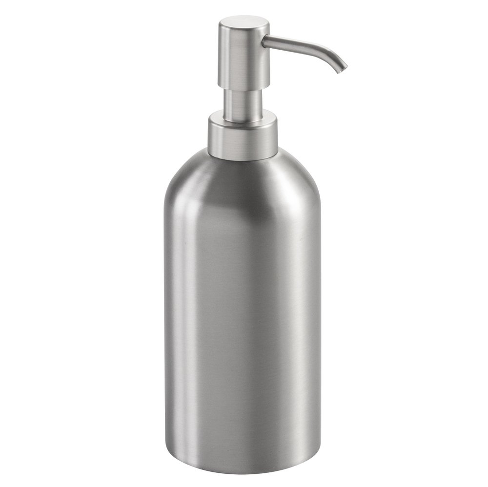 This Stainless Steel Soap Dispenser Pump By Metro Décor Is An Amazing Tool  For Bathroom And Kitchen. You Can Now Store Your Shower Gel, Hand Wash Soap,  ...