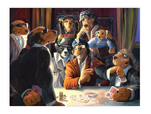 Ceaco Lonely Dog - Last Round Puzzle (1000 Piece)