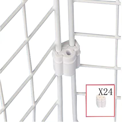 Mike Home Plastic Connection Joint for Wire Net Joining Clips for ...