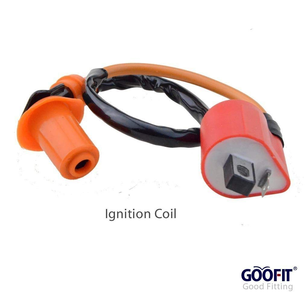 Goofit Ac Racing Ignition Coil 6 Pin Cdi Voltage Scooter Wiring Diagram Chinese Dunebuggy 250cc Gy6 Engine No Regulator Rectifier Solenoid Relay For Cg 125cc 150cc Vertical Atv Quad Go Kart