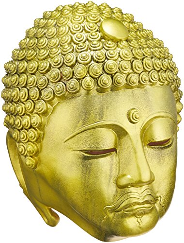 Ogawa Studio - Golden Great Buddha Rubber Mask (Made in Japan)]()