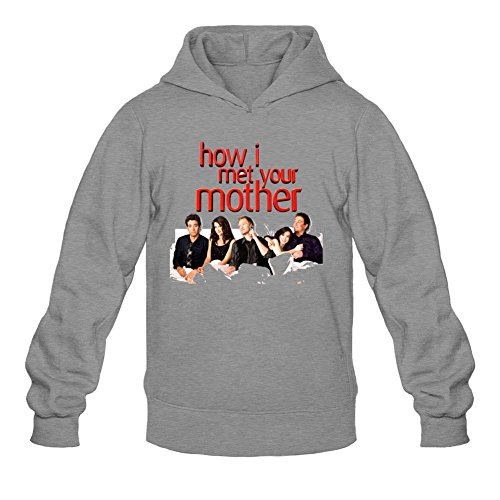 YYShirt Men's How I Met Your Mother Hoodie Sweatshirt XX-Large Dark Grey