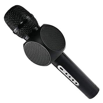 HUBI Micrófono micrófono inalámbrico Bluetooth, Condensador de ...