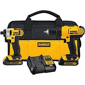Dewalt 12v Impact Driver And Drill Combo Kit Dck211s2 Power Tool