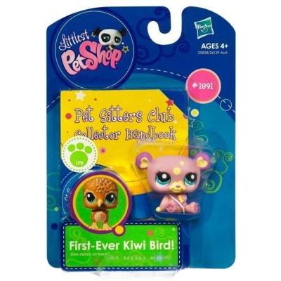 Littlest Pet Shop Pet Sitters Club Collector Handbook Panda - Littlest Pet Shop Kiwi