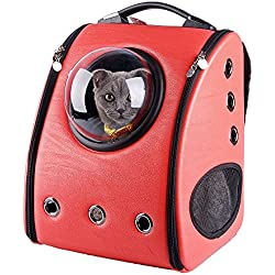 uPet U-Pet Innovative Patent - Transportín Colgante para Mascotas, Melocotón