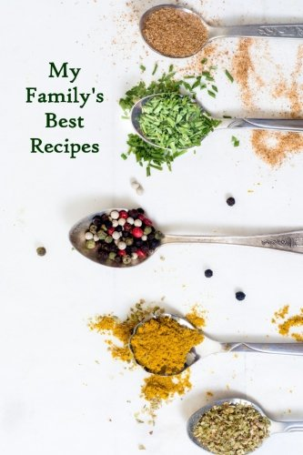 Download My Family's Best Recipes: Blank Cookbook pdf epub