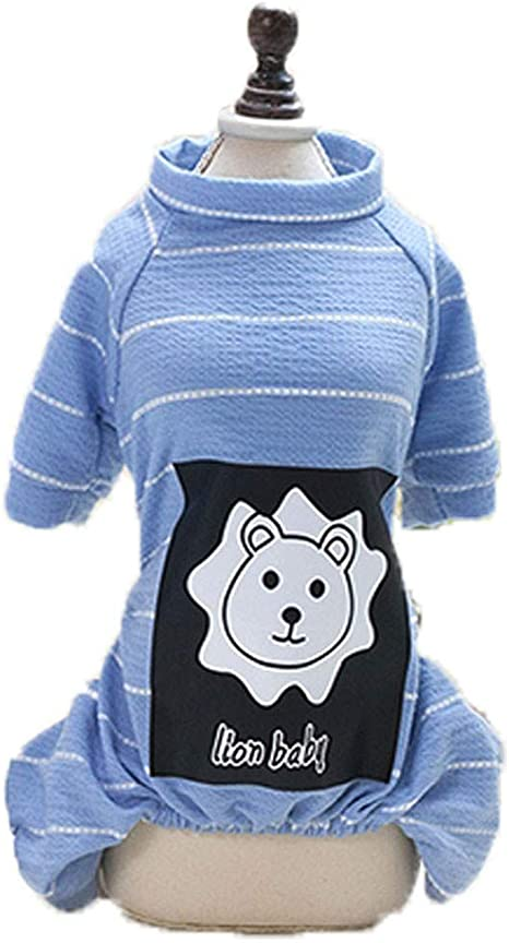 Hot Spring Pet Ropa De Verano para Perros Suave Y Transpirable Algodón Ropa Chaleco Perro Camiseta para Perros Pequeños De Gato,Blue,XS: Amazon.es: Deportes y aire libre