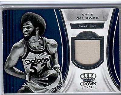 2018-19 Crown Royale Basketball Artis Gilmore Kentucky Colonels Jersey Card