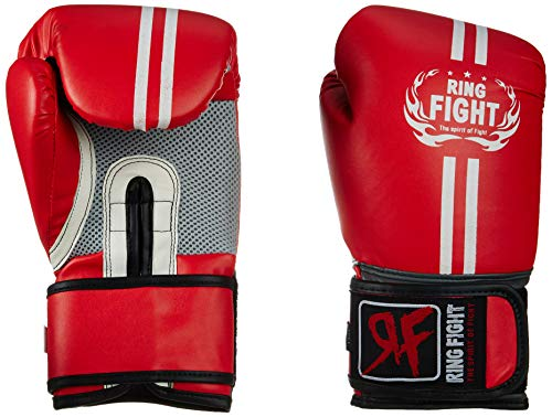 Ring Fight Pro Boxing Gloves  Red