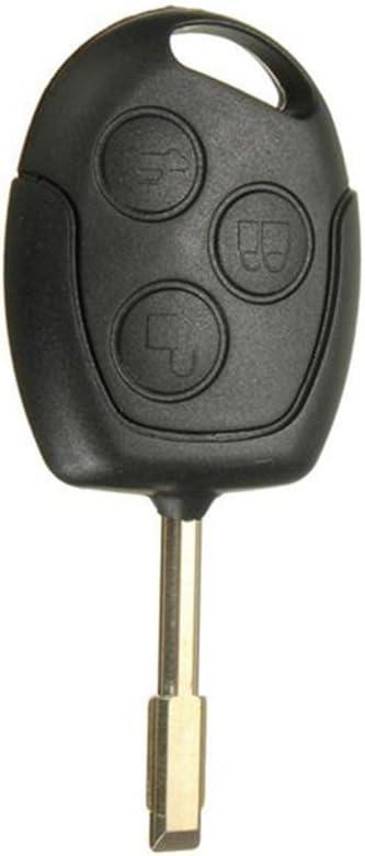 Winomo Ersatz Fernbedingung Für Kfz Ersatz Autoschlüssel Für Ford Mondeo Ungeschliffener Schlüsselbart Schlüsselanhänger 3 Tasten Garten