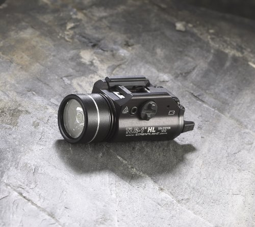 080926692602 - Streamlight 69260 TLR-1 HL Weapon Mount Tactical Flashlight Light 800 Lumens with Strobe carousel main 3
