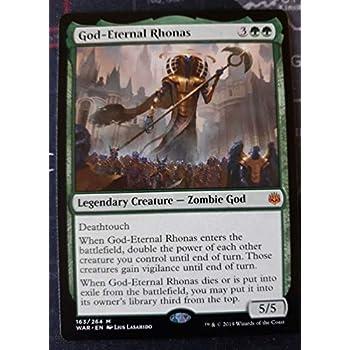 War of the Spark God-Eternal Rhonas Mythic Rare MTG Magic