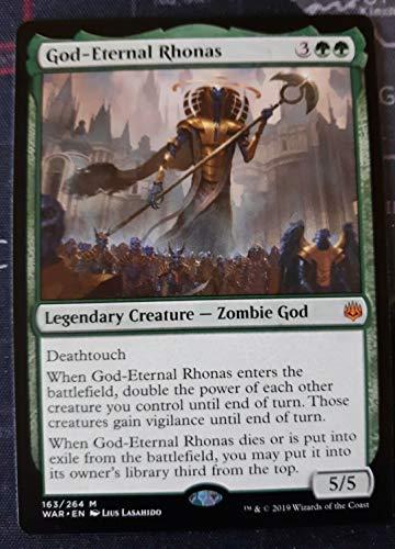 MTG War of the Spark: God-Eternal Rhonas - 163/264 - Rare - NM/M